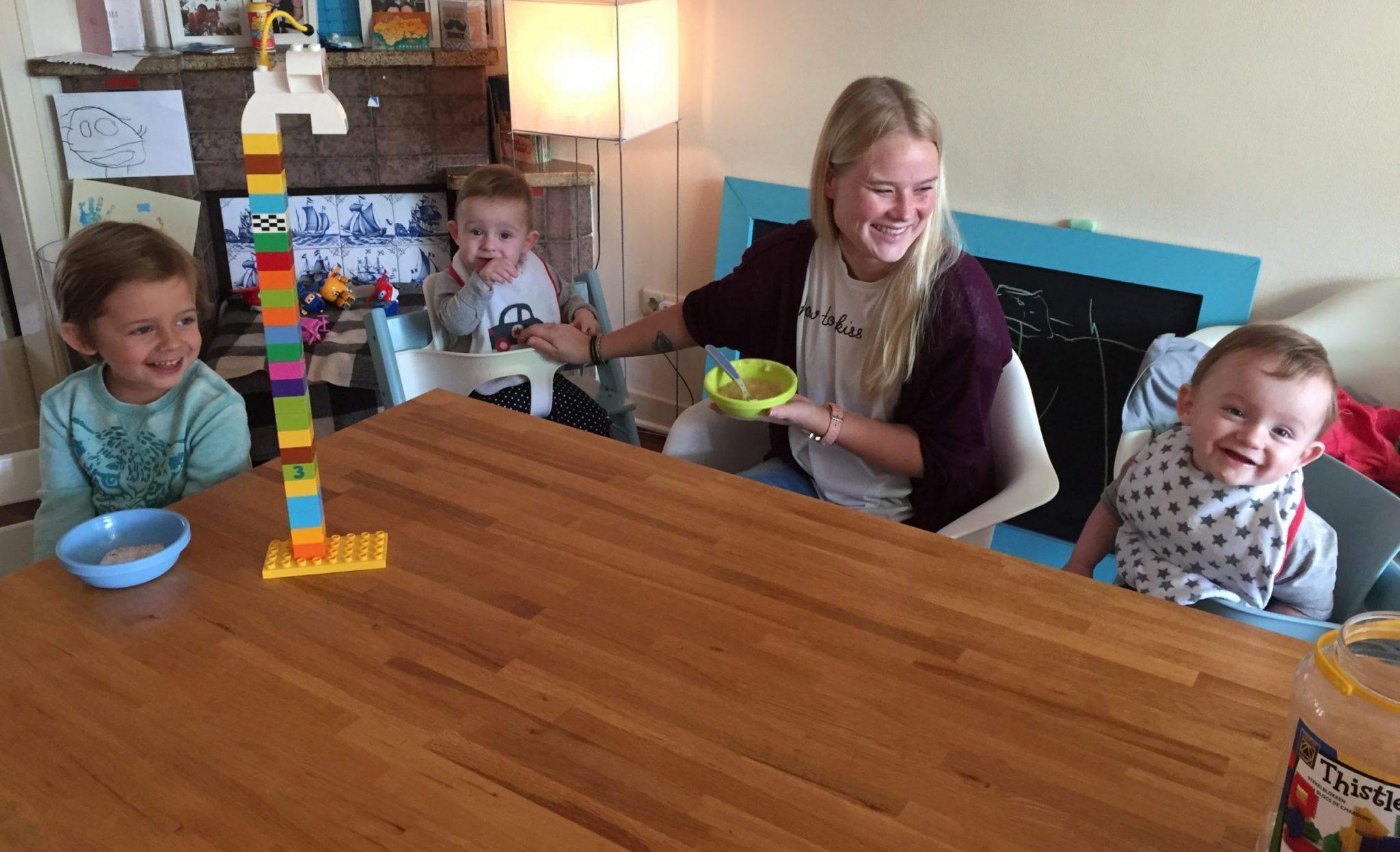 Nanny Service Nederland - een lekkere lunch voor de kinderen